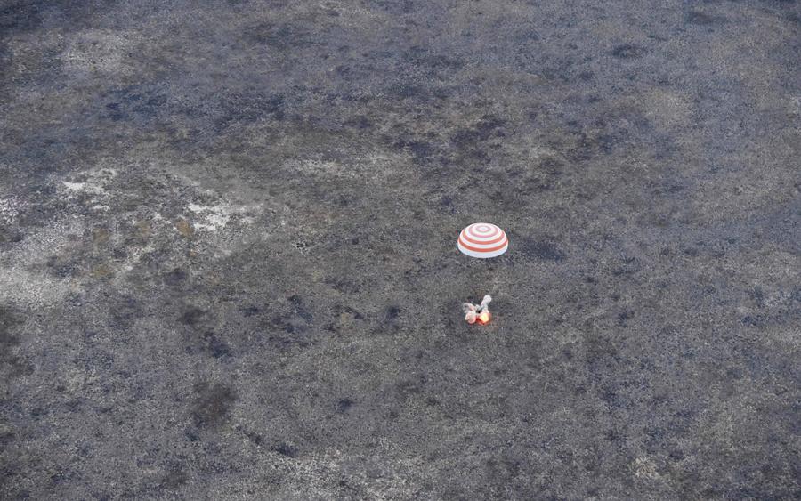 Земля и космос с МКС - 17