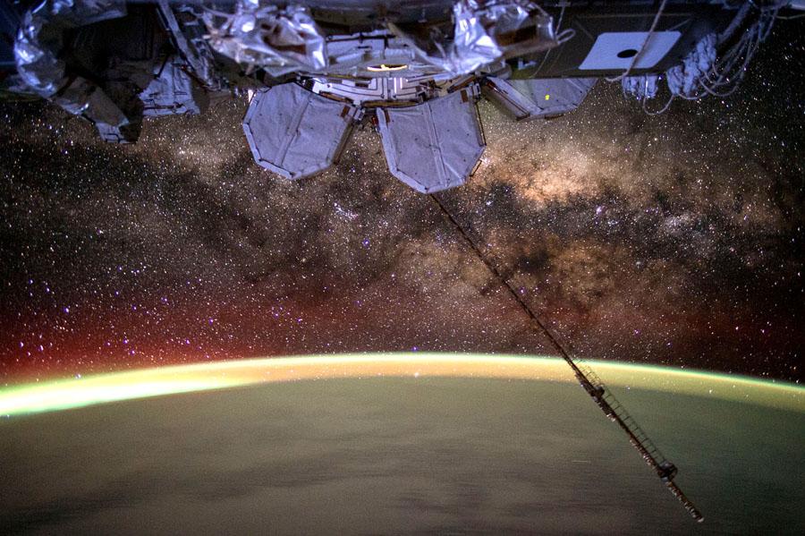 Земля и космос с МКС - 6