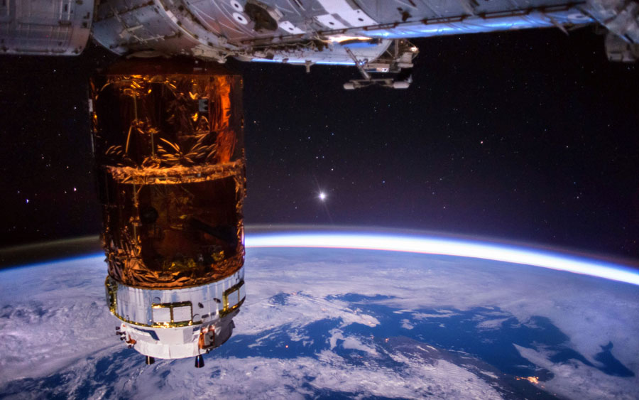 Земля и космос с МКС - 8