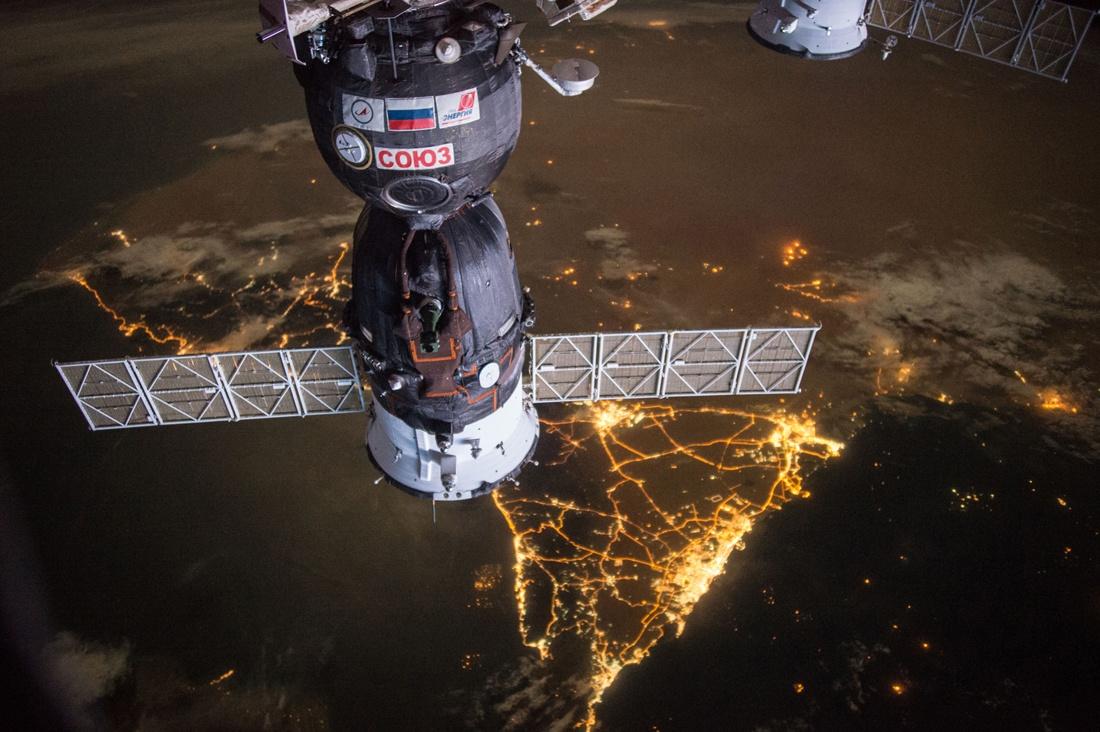 Земля и космос с МКС - 1
