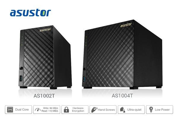 В режиме чтения хранилища Asustor AS1002T и AS1004T развивают скорость до 110 МБ/с, в режиме записи — до 95 МБ/с