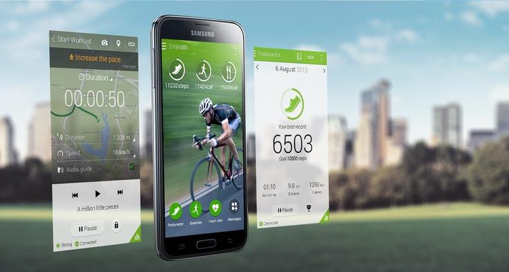 ПО Samsung S Health появилось в Google Play