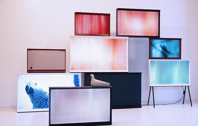 Представлена линейка дизайнерских телевизоров Samsung Serif TV
