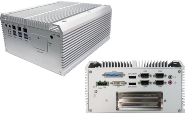В серии ПК Arbor FPC-7800 есть модели с разными размерами корпусов и разной оснащенностью