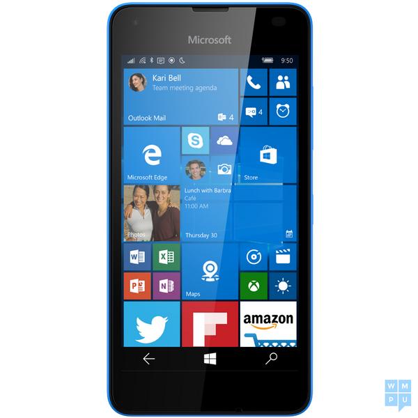 Смартфон Microsoft Lumia 550 будет доступен в четырёх цветовых вариантах