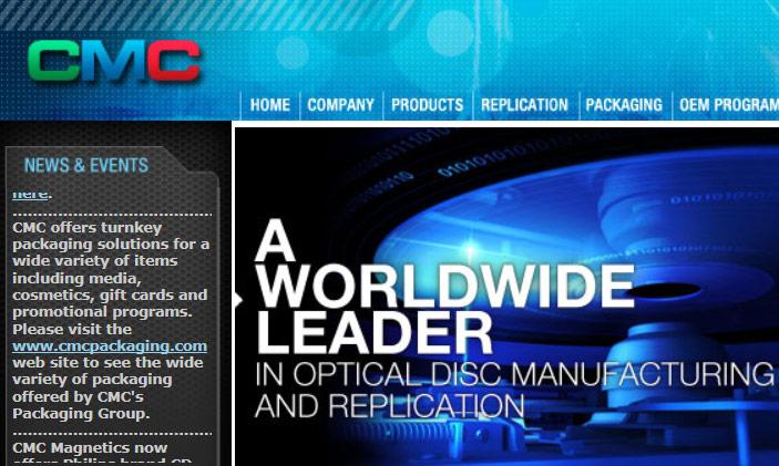 В CMC Magnetics рассчитывают использовать приобретение для выпуска высоконадежных оптических носителей