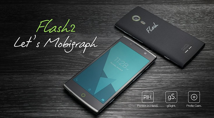 Смартфон Alcatel OneTouch Flash 2 основан на SoC MediaTek MT6753