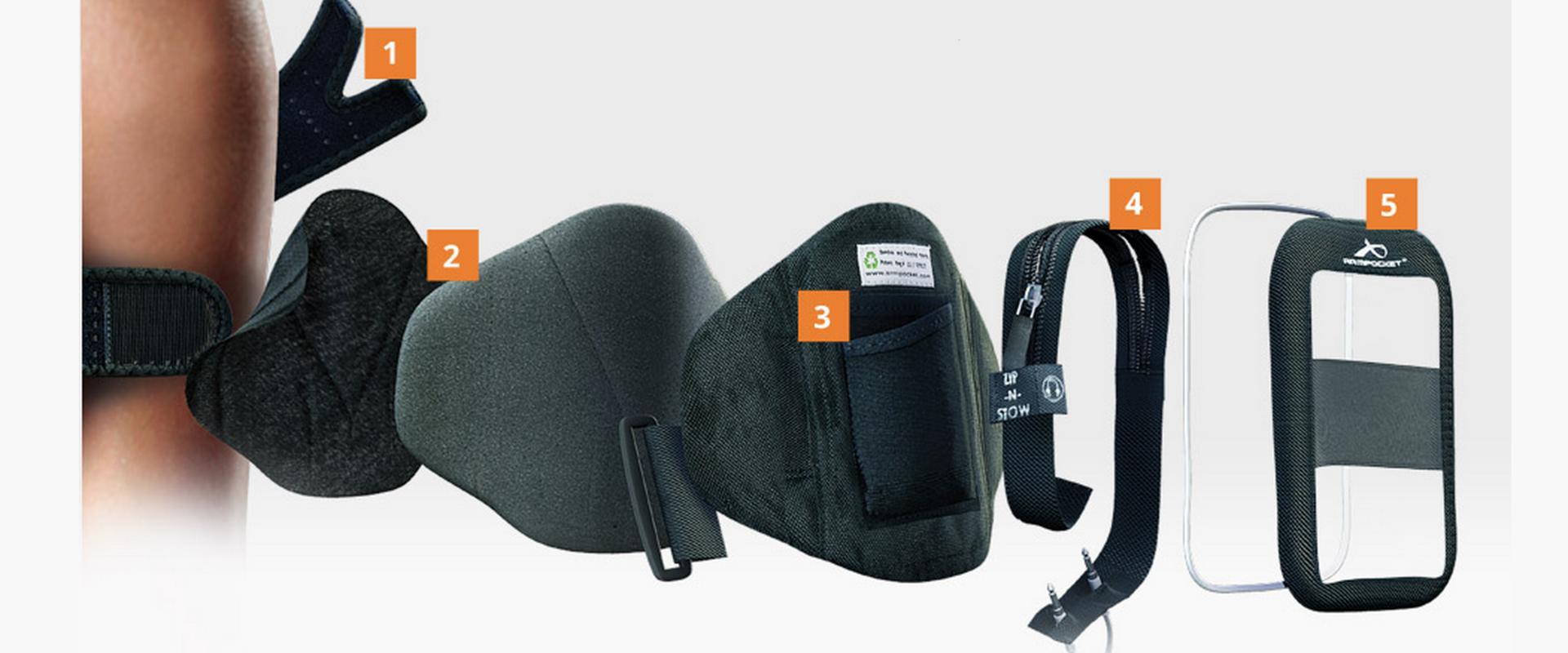 Обзор не гаджета. Выбираем лучший чехол для тренировок и другие аксессуары для смартфонов: повязки, сумки и силиконовый карман Adidas - 22
