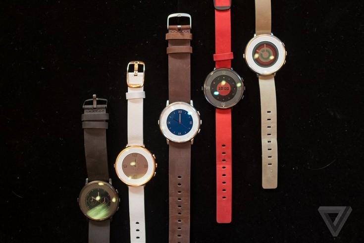 Умные часы Pebble Time Round поддерживают технологию быстрой зарядки
