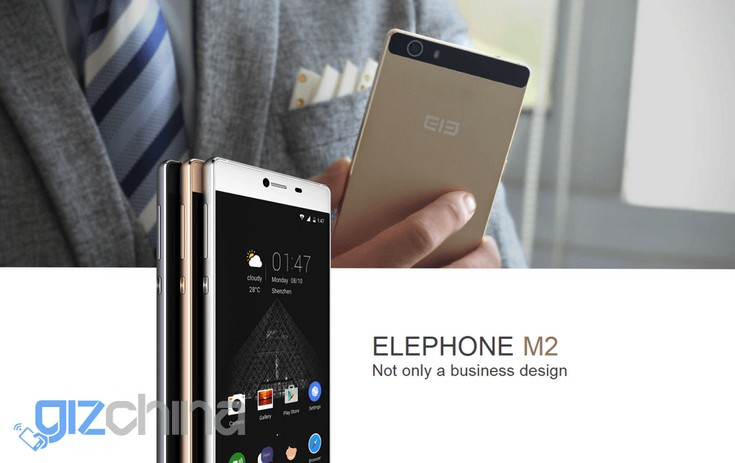 Смартфон Elephone M2 получит SoC MediaTek MT6753