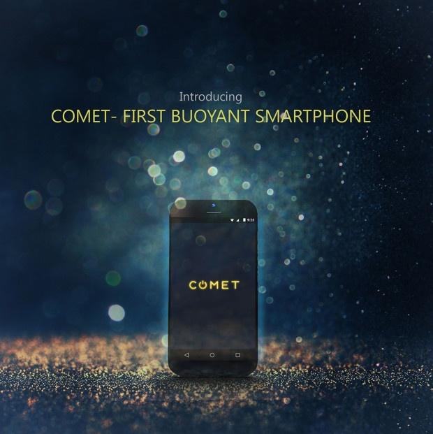 Comet не только не боится погружения в воду (рейтинг IPx7), но и является, по утверждению создателей, «первым в мире плавучим смартфоном»
