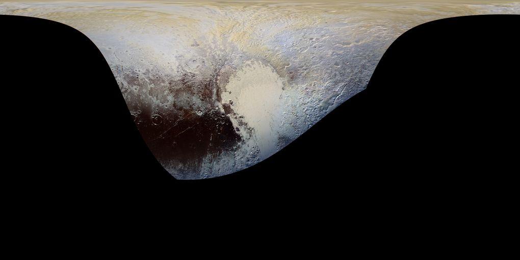 New Horizons прислал цветные фото Плутона высокого разрешения - 3