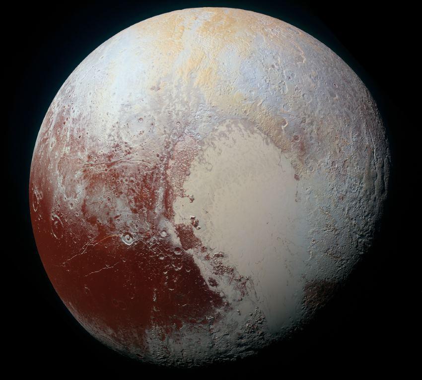New Horizons прислал цветные фото Плутона высокого разрешения - 1