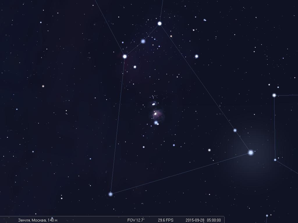 Что будет видно на небе утром 28 сентября во время лунного затмения - 6