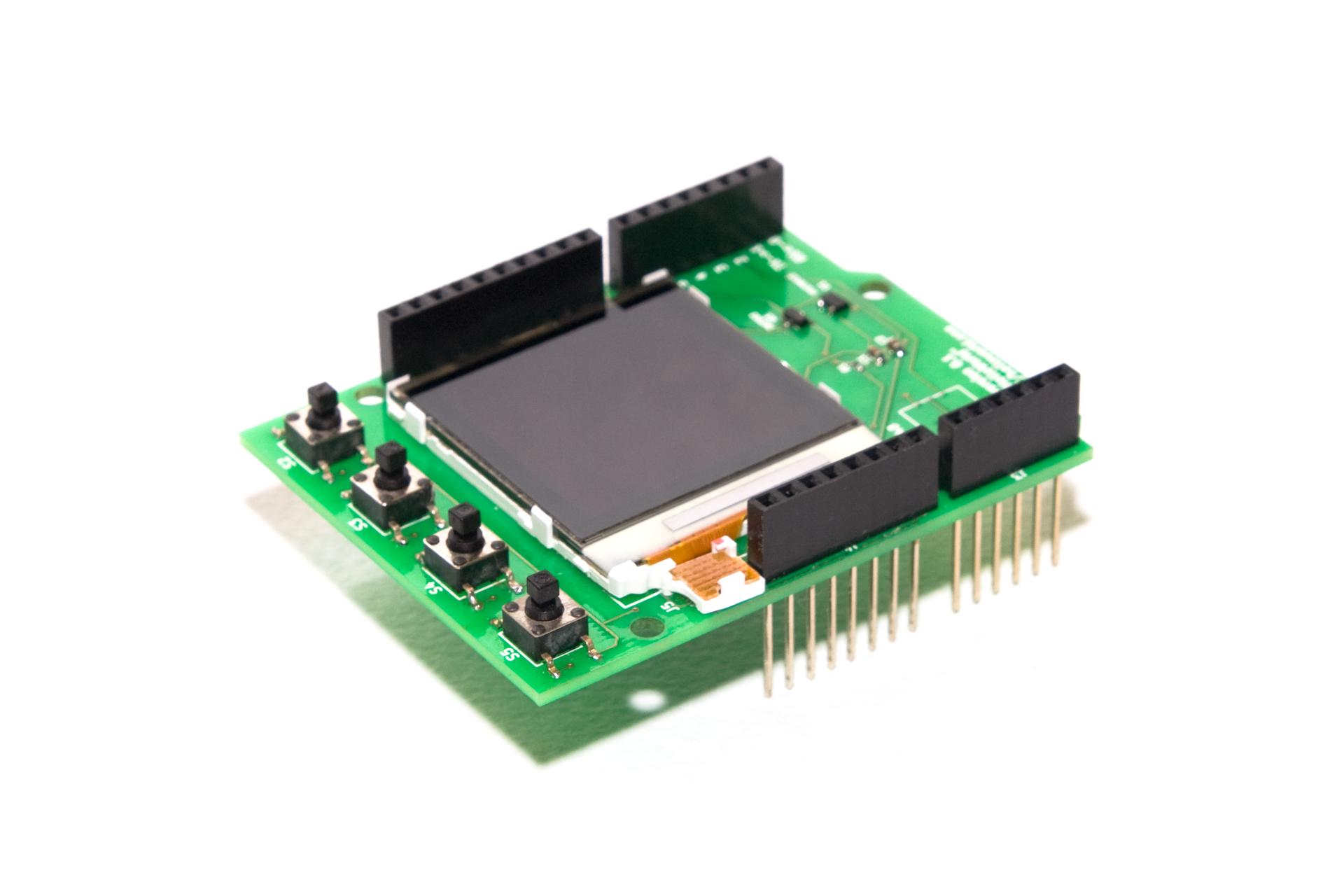 Интеллектуальный LCD шилд для Arduino - 2
