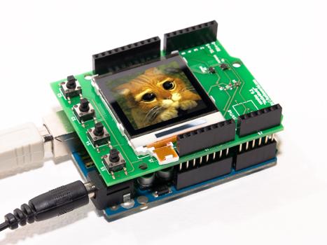 Интеллектуальный LCD шилд для Arduino - 1