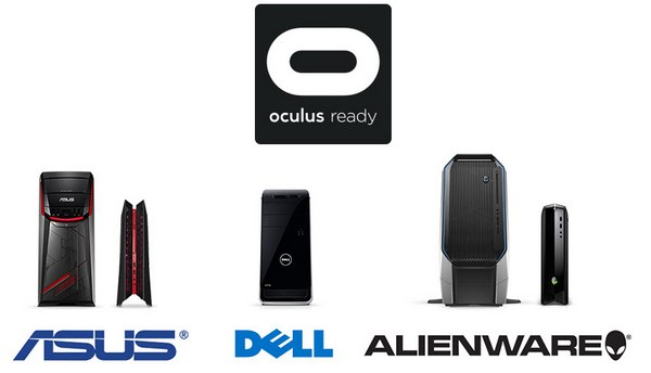В следующем году на рынке появятся различные модели компьютеров с наклейкой Oculus Ready от известных производителей, включая Asus, Alienware и Dell