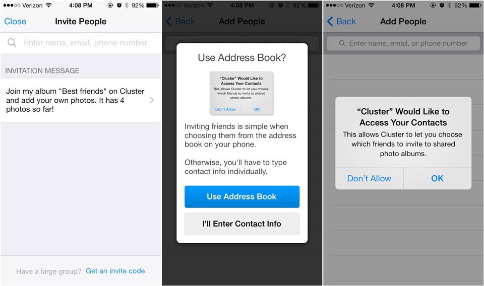 Как правильно запрашивать доступ у пользователей iOS - 5