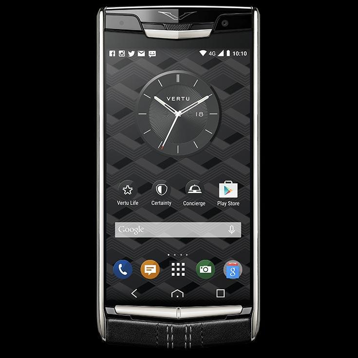 Размер экрана Vertu Signature Touch увеличен с 4,7 до 5,2 дюйма