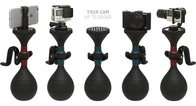 Модель ultraLUUV предназначена «для камер размером с GoPro»