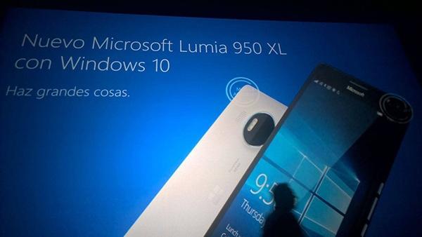 Microsoft Lumia 950 XL и Lumia 950: спецификации
