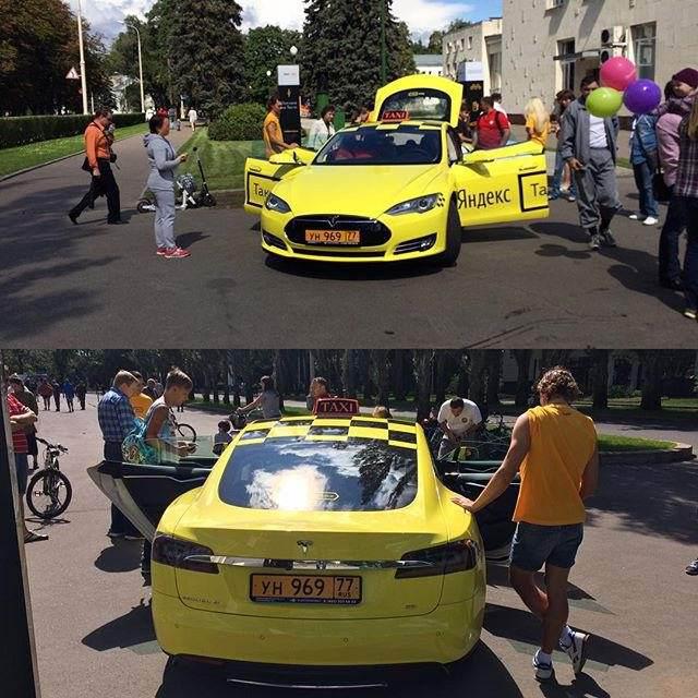 А есть ли заявленная «Яндекс.Такси» экономия при эксплуатации Tesla Model S? - 5
