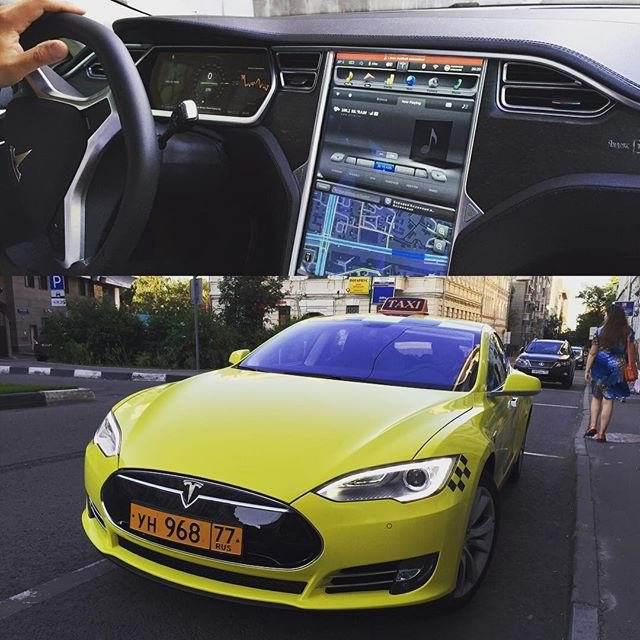 А есть ли заявленная «Яндекс.Такси» экономия при эксплуатации Tesla Model S? - 1