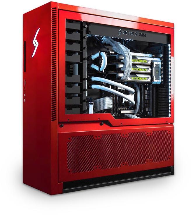 В конфигурацию ПК Digital Storm Aventum 3 входит процессор Intel Core i7-6700K