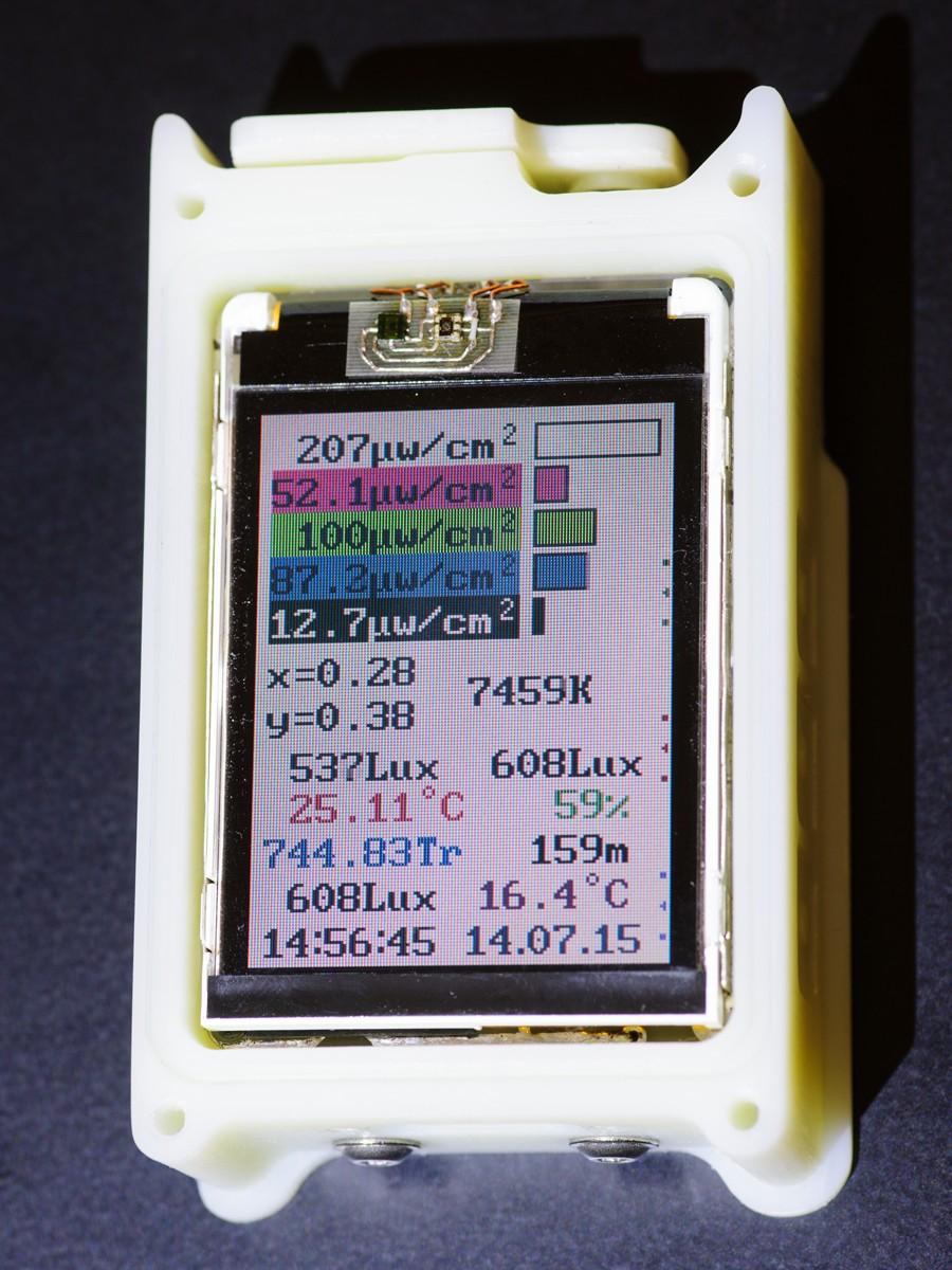Портативная походная метеостанция MiniBTH2-2M - 10