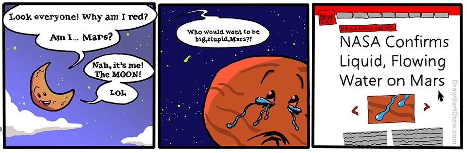 AMA с исследователями Марса об обнаружении жидкой воды - 1