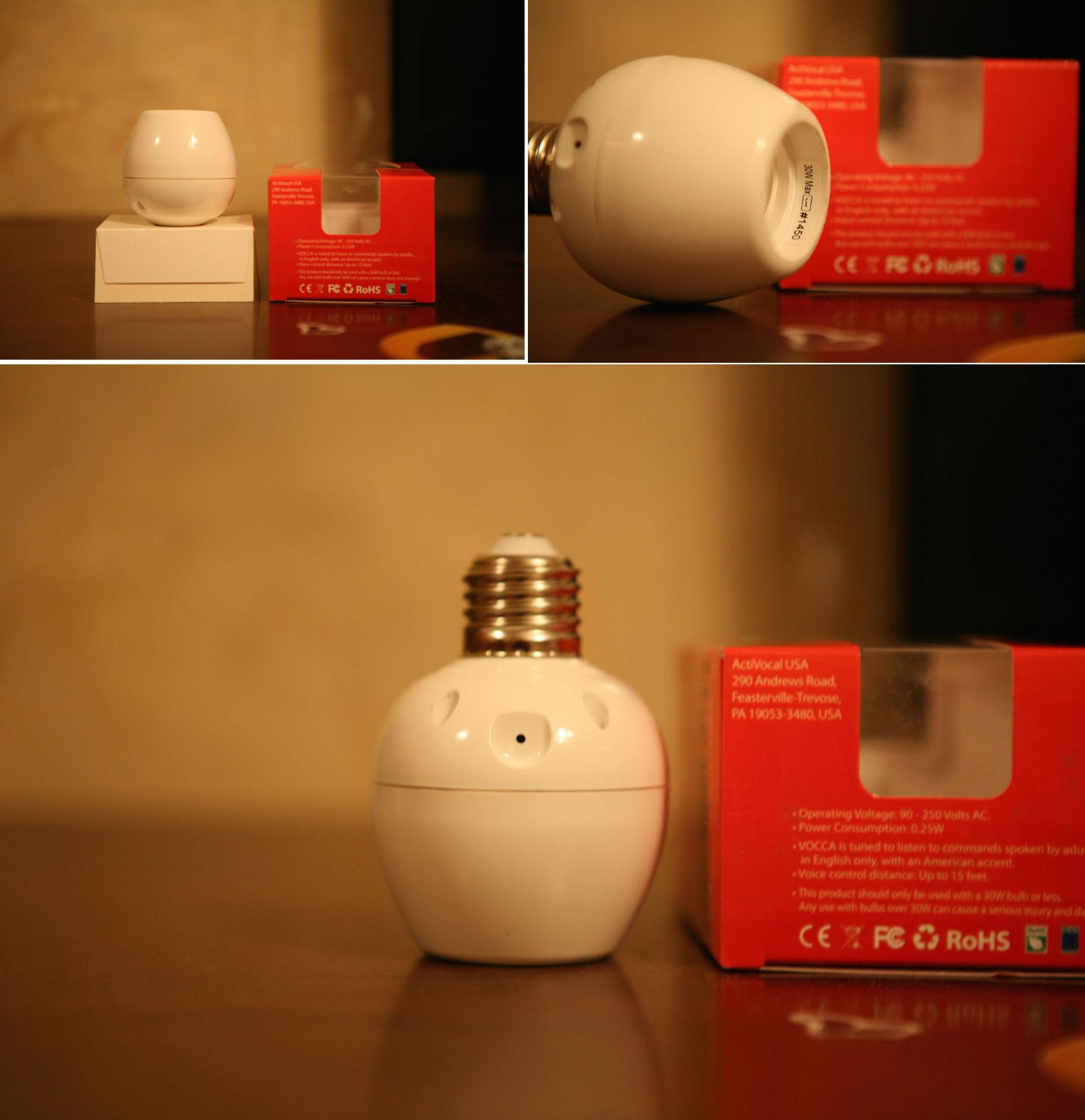 Как говорить с лампочкой — обзор смарт-патрона VOCCA - 7