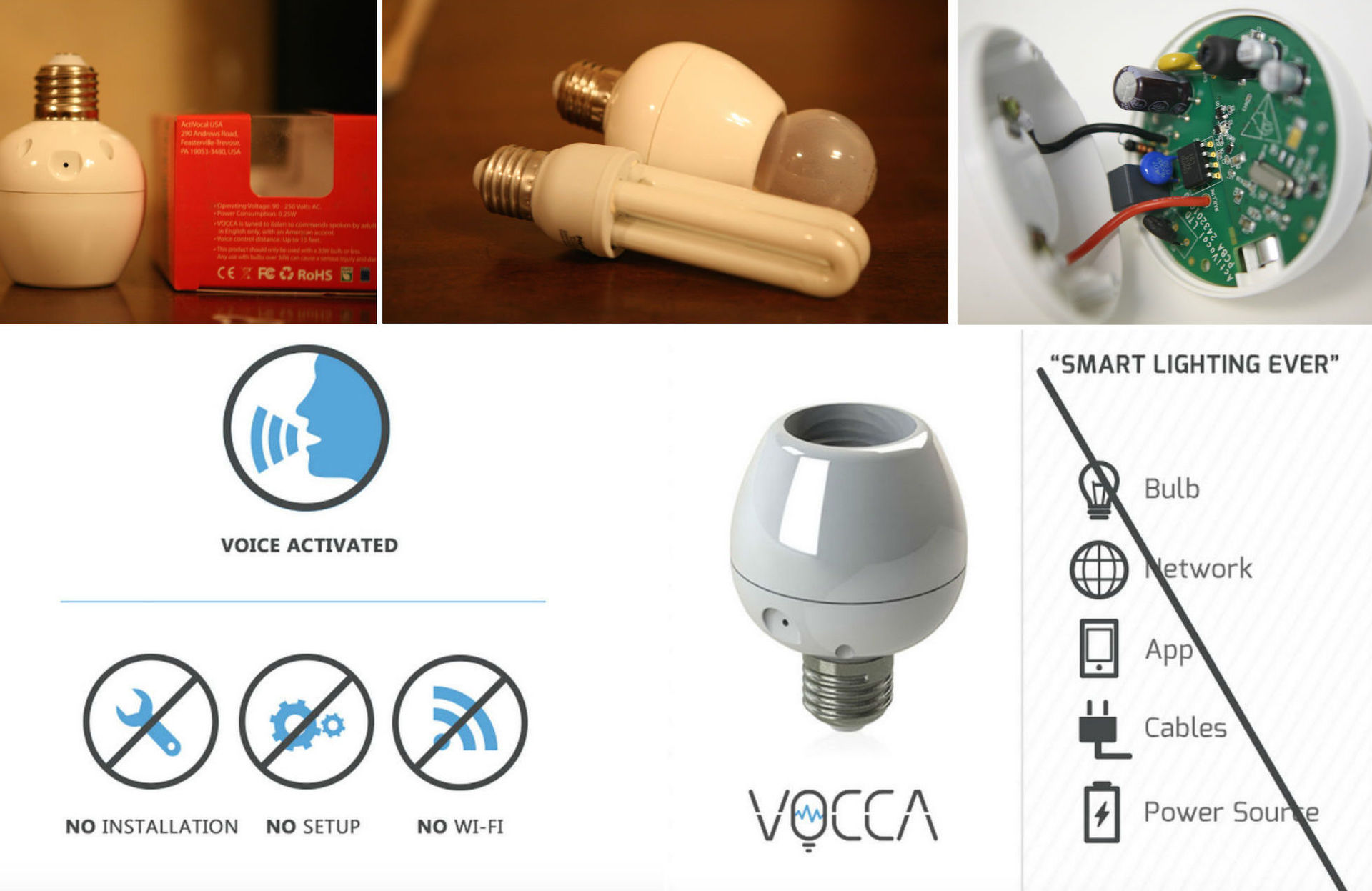 Как говорить с лампочкой — обзор смарт-патрона VOCCA - 1