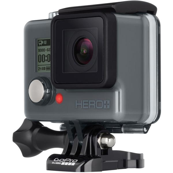 Камера GoPro Hero+ поддерживает Wi-Fi и Bluetooth