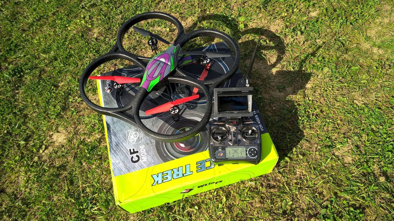 Дьявольский квадрокоптер за 100$ с онлайн-трансляцией на монитор — WLtoys V666 FPV - 8