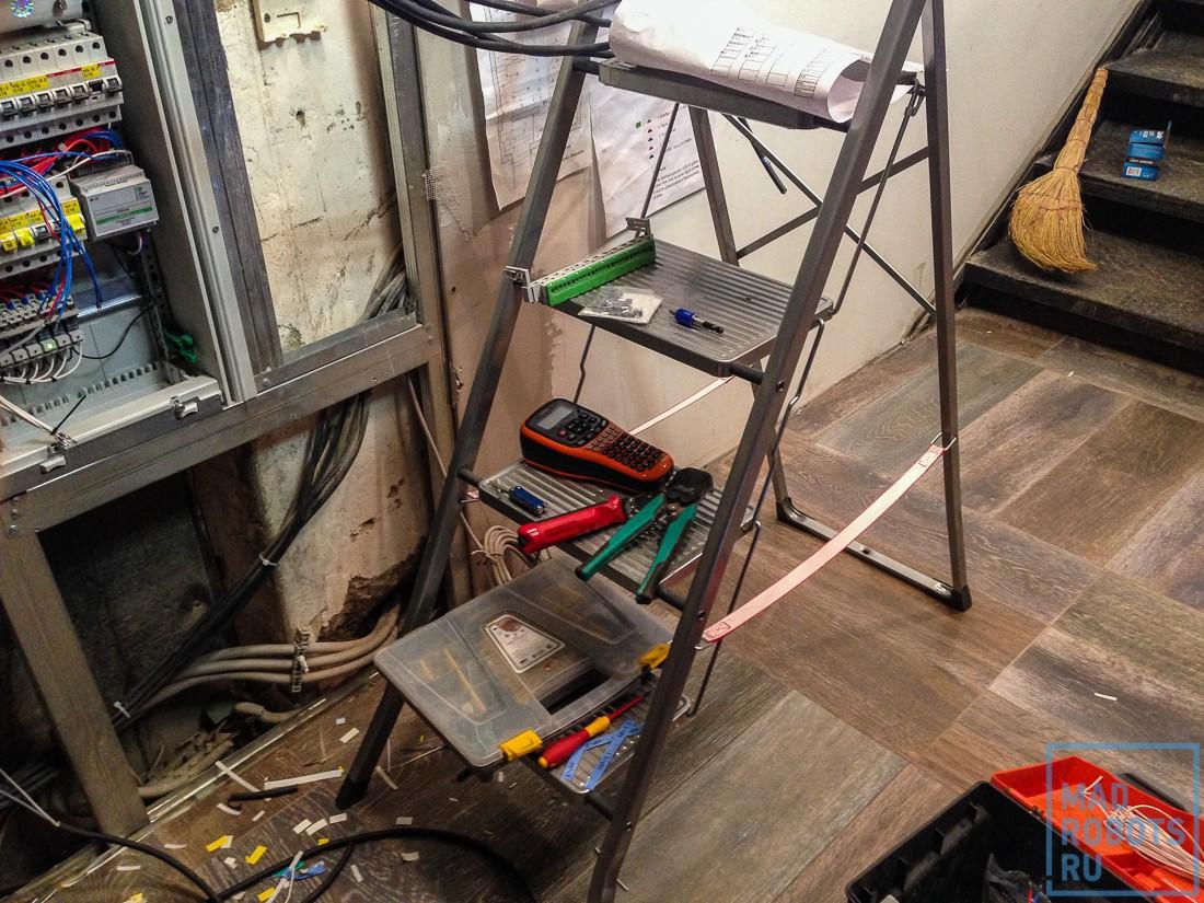 Хроники ремонта: как мы делали новый умный офис Madrobots. Часть вторая, умная - 25