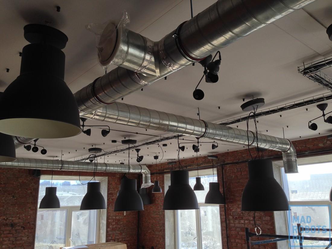 Хроники ремонта: как мы делали новый умный офис Madrobots. Часть вторая, умная - 9