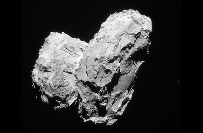Комета Чурюмова-Герасименко — это две кометы, соединенные вместе - 2