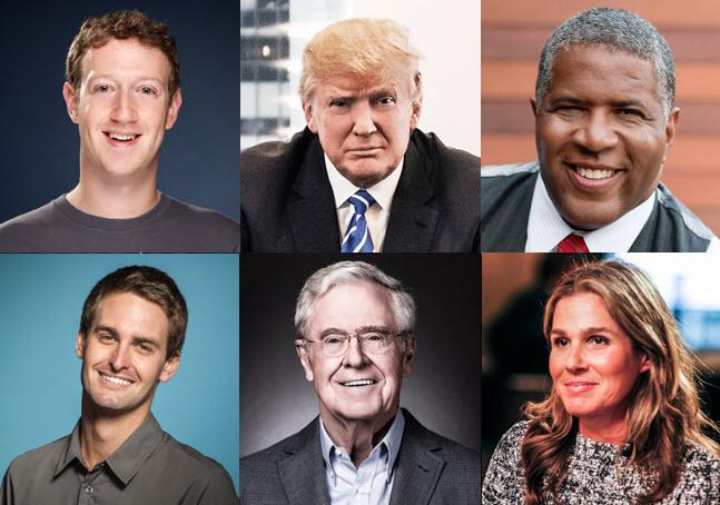Самые «денежные» люди. В рейтинг Forbes попали Цукерберг и Безос - 1