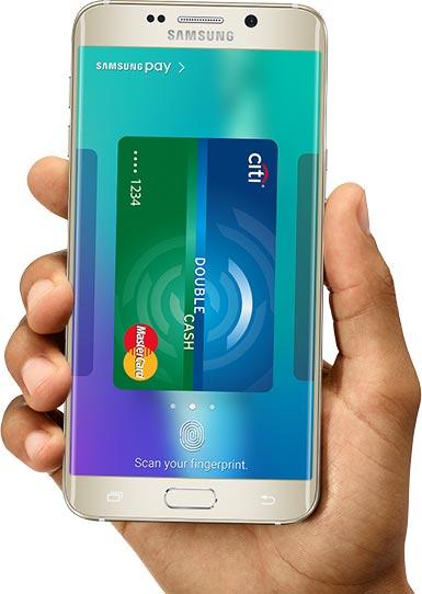 Оплатить с помощью Samsung Pay можно практически во всех терминалах, принимающих платежные карты