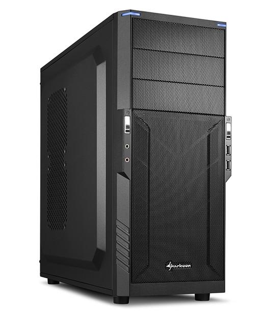 Компьютерные корпуса Sharkoon T3-S, T3-V и T3-W рассчитаны на системные платы типоразмера mini-ITX, microATX и ATX