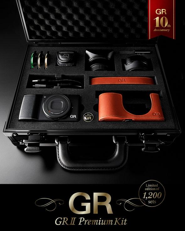 Наборов Ricoh GR II Premium Kit с камерой Ricoh GR II будет выпущено всего 1200 штук
