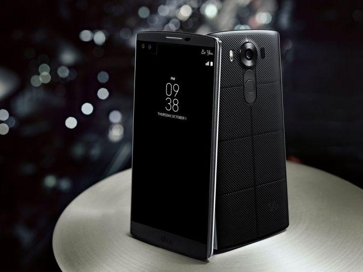 Смартфон LG V10 наделили дактилоскопом