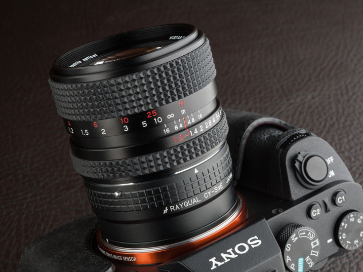 Представлен объектив Kinoshita Kistar 55mm F1.2