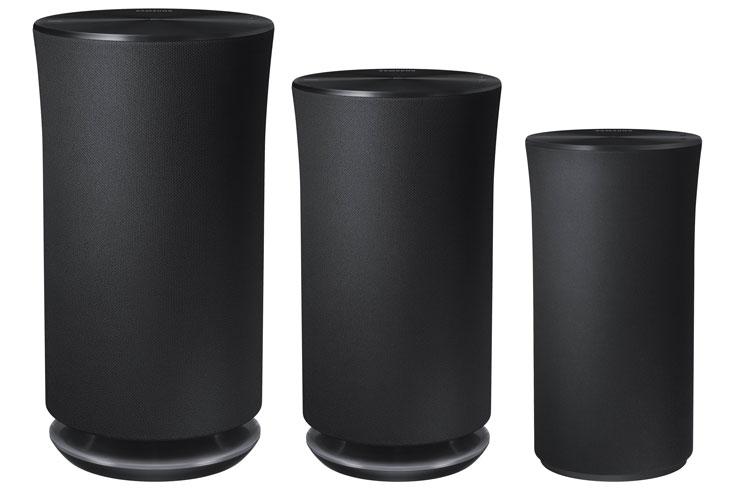 Беспроводные акустические системы Samsung Radiant360 R5, R3 и R1 вписываются в любой интерьер
