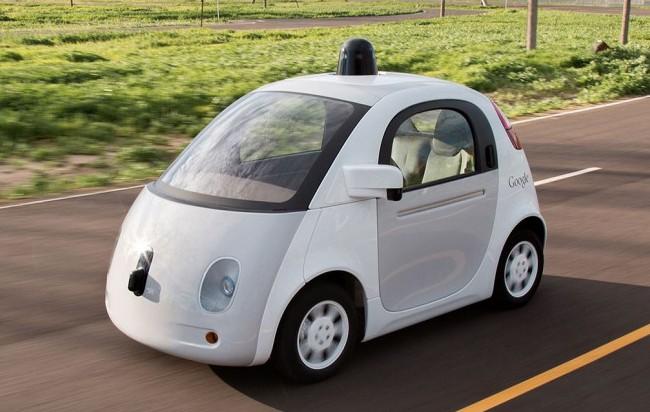 часть автопарка беспилотных автомобилей Google составляют новые прототипы