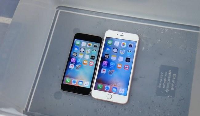 энтузиасты уже провели несколько тестов, в которых iPhone 6s проработал под водой более получаса