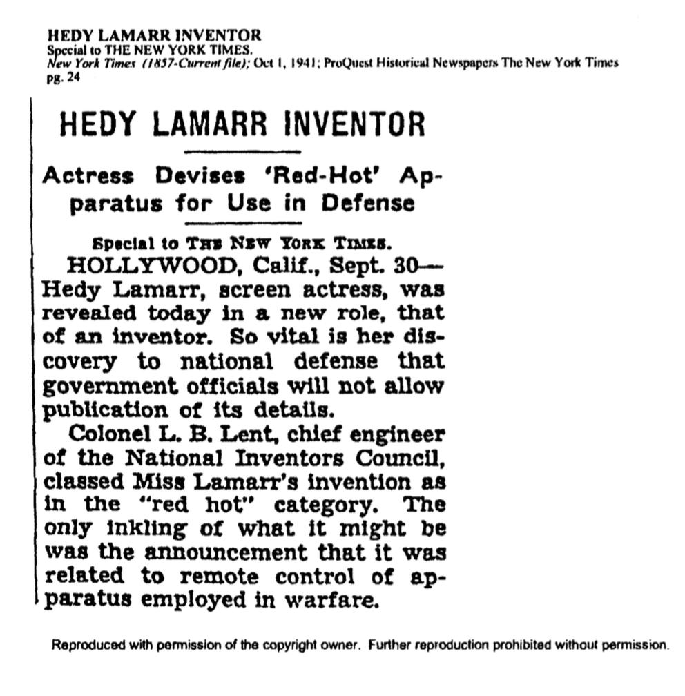 Хеди Ламарр — голливудская звезда 40-х годов, которая «изобрела» Wi-fi и GPS - 6