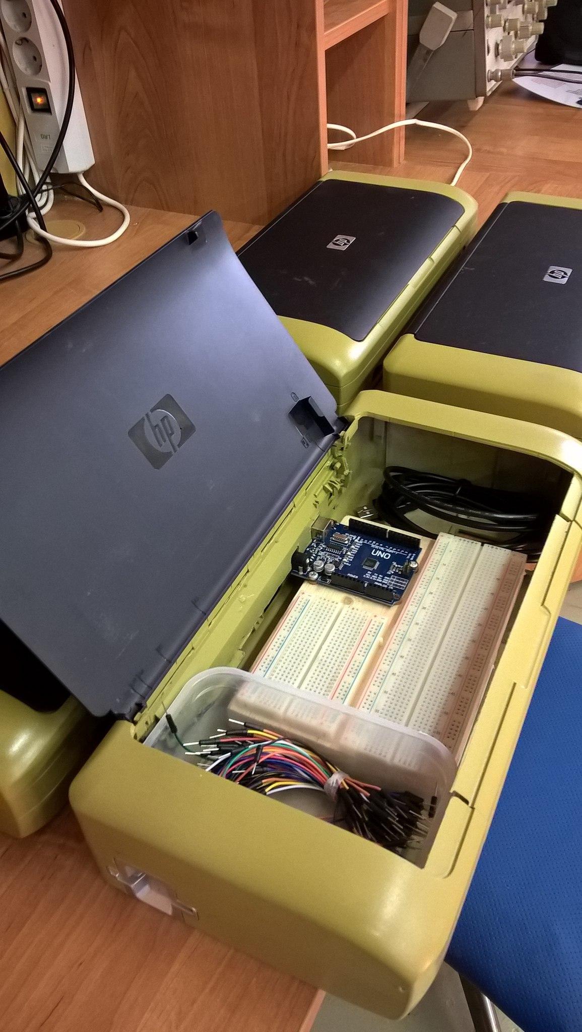 Индивидуальные макеты для кружка радиоэлектроники на базе… да-да, опять Arduino - 6