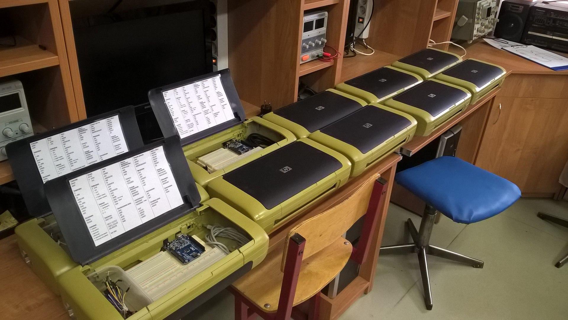 Индивидуальные макеты для кружка радиоэлектроники на базе… да-да, опять Arduino - 7