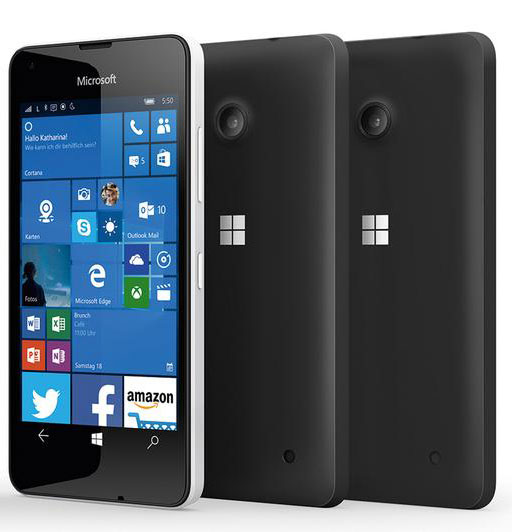 Основой Lumia 550 послужит SoC Snapdragon 210
